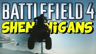 funny battlefield 4 shenanigans bf4 funny gameplay moments 4 epic fail defib slam trolling