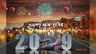 Picsart Happy New Year 2019 Photo Editing tutorial in picsart Step by Step   Taukeer Editz