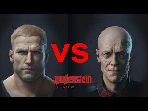 Wolfenstein The New Order Босс - Как убить генерала Черепа