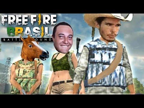 FREE FIRE l TENTE N RI #2 ( Piuzinho, Crusher Fooxi, Chin, Gud )