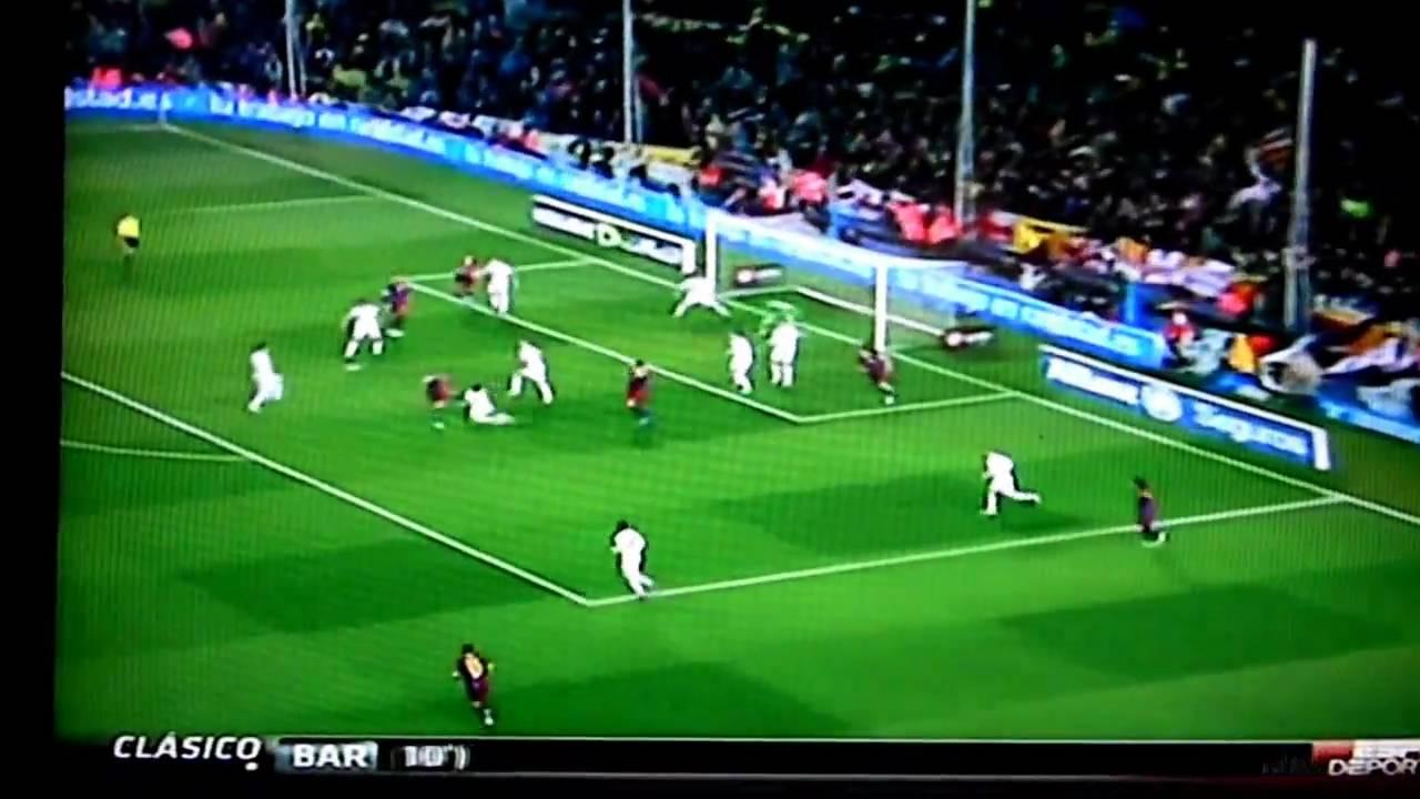 Barcelona VS Real Madrid El Clasico 11/29/2010 5-0 - YouTube