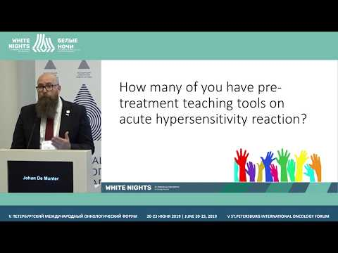 Infusion-related Responses To Anticancer Drugs (Johan De Munter)