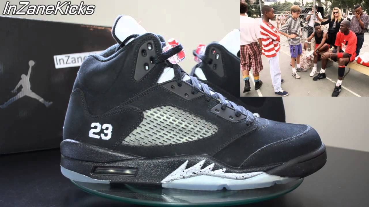 wholesale dealer 7378a a5430 Air Jordan V (5) Black Metallic 2011 Retro - Michael Jordan's Playground