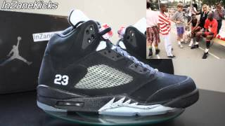 Air Jordan V (5) Black Metallic 2011 Retro - Michael Jordan