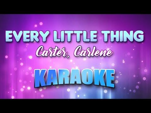 Carter, Carlene - Every Little Thing (Karaoke & Lyrics)