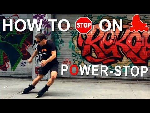 Download How To Stop On Inline Skates  -Power Stop Tutorial