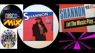 Shannon - Let The Music Play (New Disco Mix Extended Remix) VP Dj Duck
