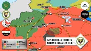 23 января 2018.Военная обстановка в Сирии. Минобороны РФ заявило об окружении 1500 боевиков.