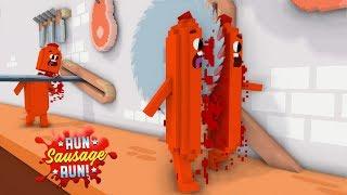 Monster School: RUN SAUSAGE RUN! CHALLENGE! - Minecraft Animation