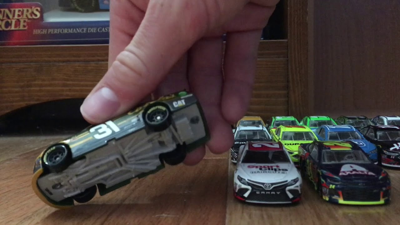 Download My 2018 1:64 NASCAR Diecast Collection So Far!