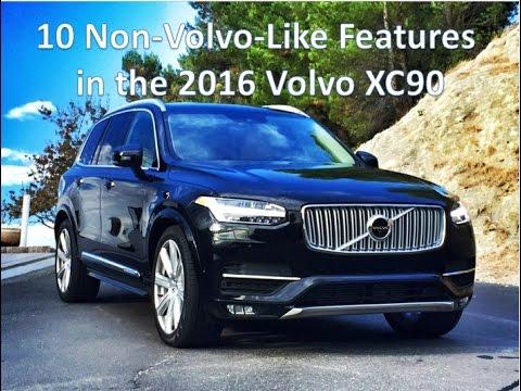 The 2016 Volvo XC90 sport utility vehicle