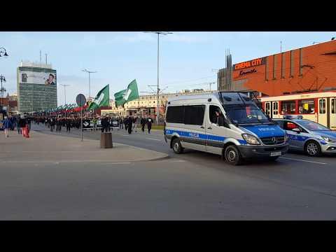 Marsz ONR w Gdańsku z 14 kwietnia 2018