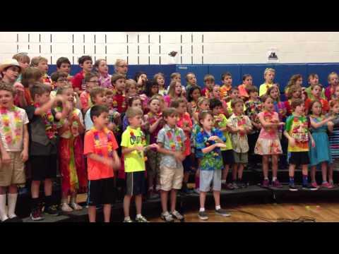 Lexi's 2nd grade Music concert - Three Little Fishies