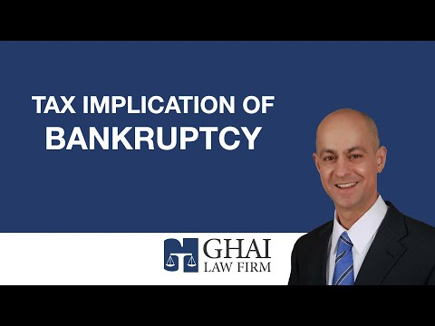 Tax Implication of Bankruptcy