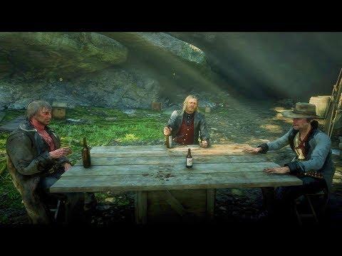 Micah, Cleet and Joe Coversation Clips / Hidden Dialogue / Red Dead Redemption 2
