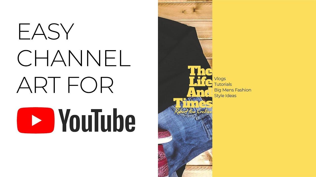 youtube channel art designers