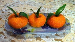 Закуска Мандаринки/Закуска из Плавленных Сырков/Mandarin Snack/Простой Рецепт(Очень Вкусно)