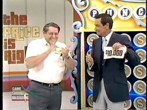 The Price is Right:  September 15, 1982  ($10,000 Win in Punch a Bunch!)