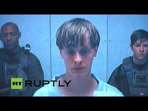 LIVE: Charleston shooter attends bond hearing