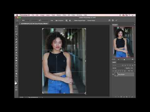 Molly's Minute Photoshop Tutorial - Cropping