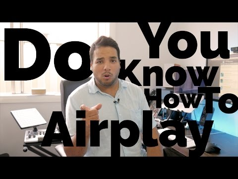 How To: Airplay (Stream Music To Wireless Speakers)
