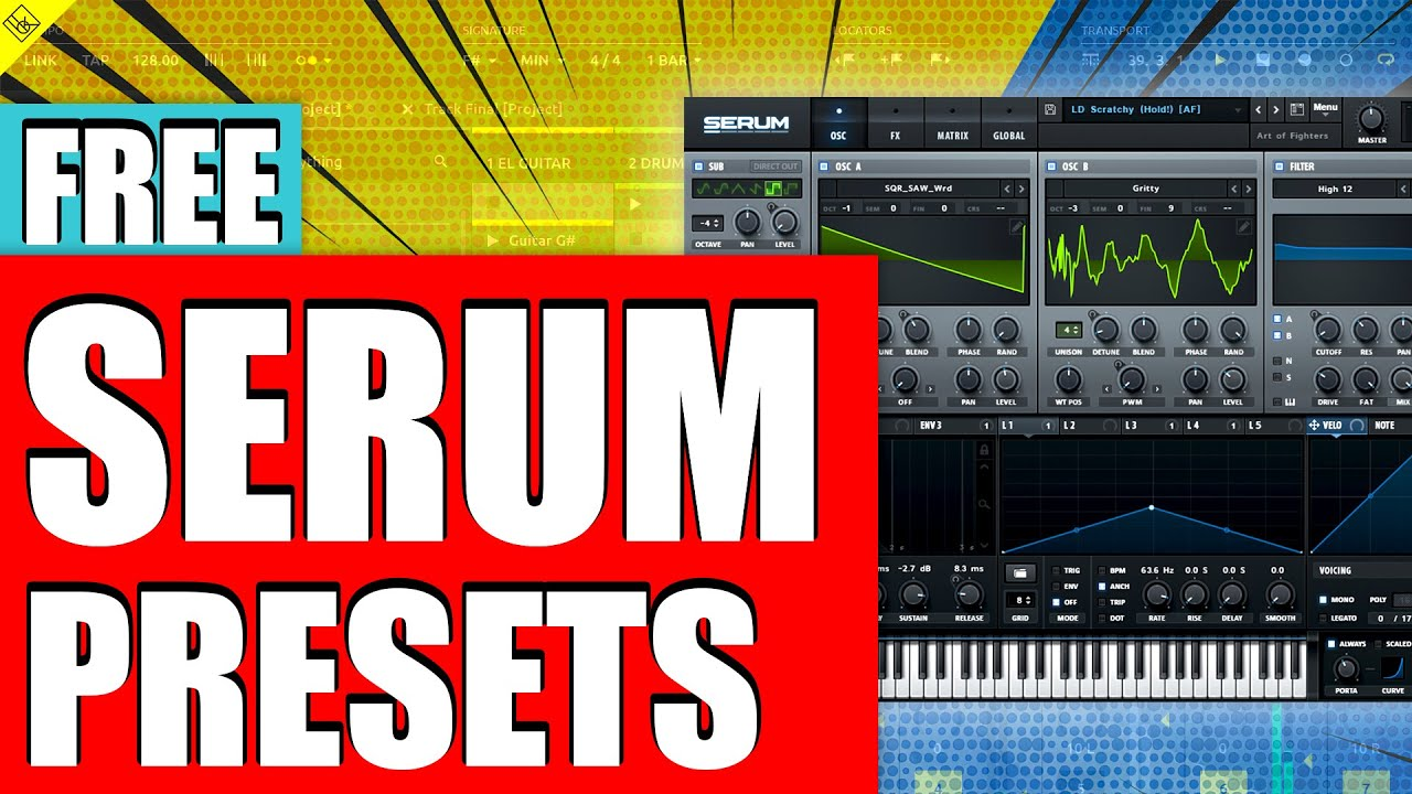 """""""MUST HAVE"""" Free Xfer Serum Presets [House], [Techno] and [EDM]"""
