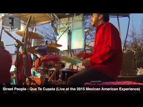 Street People - Que Te Cuesta (Live @ Mexican American Experience 2015, MACC, Austin, TX) - Drum Cam