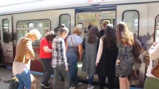 ЧП в Московском метро - 4 июля 2017 года