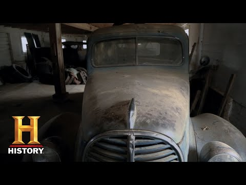 American Pickers: Purely Vintage 1939 Ford Truck Is Irresistible (Season 17) | History