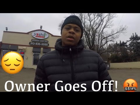 Owner Goes Off On Food Reviewer | Yoshi Hibachi Grille Food Review!!! | MAM Eating Show |