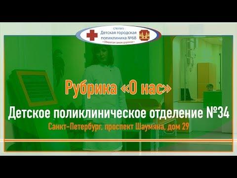 О нас - Обновленная детская поликлиника №34 Красногвардейского района