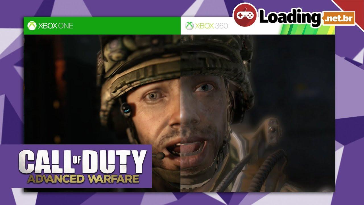 Call of Duty Advanced Warfare - Comparação Gráfica - Xbox ...
