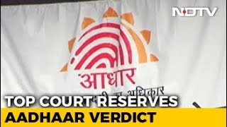 Aadhaar Verdict Reserved By Supreme Court, 2nd Longest Case Ever