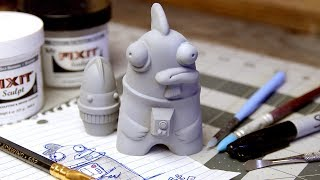 From Sketch To Sculpt: How I Make Toys - Sculpting Action Figures For Resin Casting
