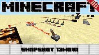 Minecraft Snapshot: 13w01a - 1.5 Redstone Update [Deutsch] [HD]