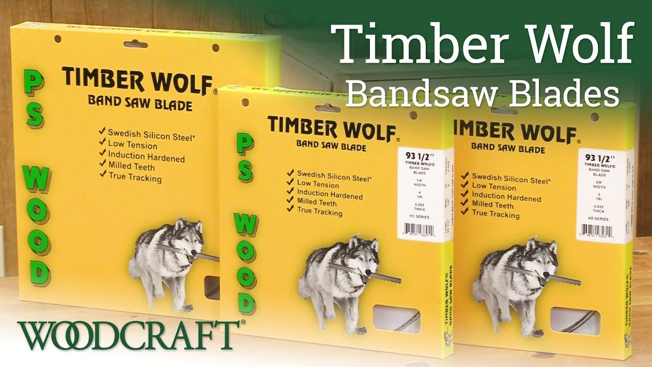 Timber Wolf Bandsaw Blade 1//2 x 93-1//2 4 TPI