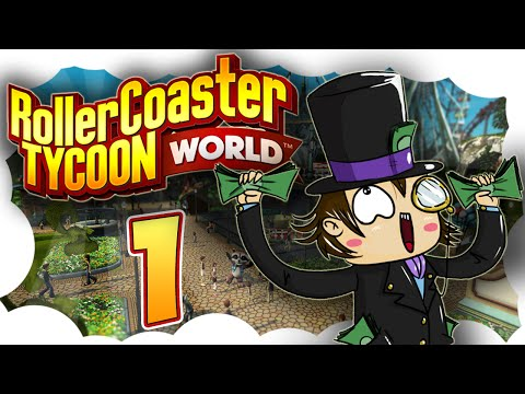 Roller Coaster Tycoon World español - gameplay 1080 | EARLY ACCESS | #1 UN NUEVO PARQUE [KraoESP]