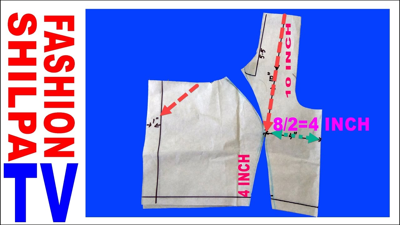 223437422d344b Princes Cut Blouse Cutting and Stitching|| Princess cut Blouse Cutting part  1 diy