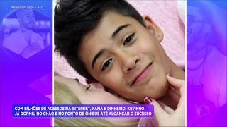 Baixar Rodrigo Faro invade casa de Kevinho e relembra passado do cantor