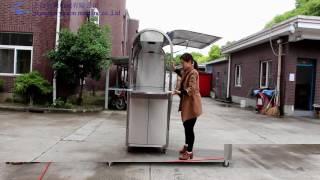coffee cart, food cart, food kiosk,