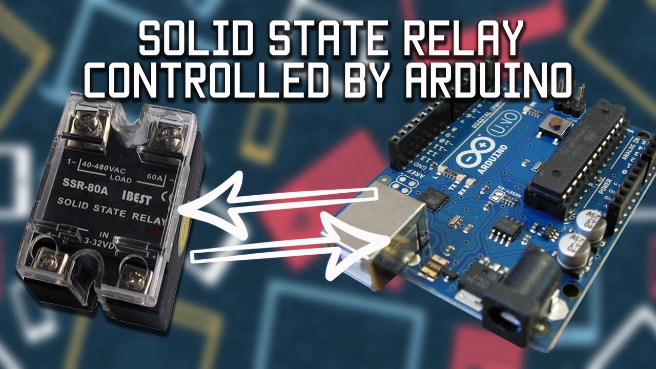 Solid state relay controlled by Arduino YouTube