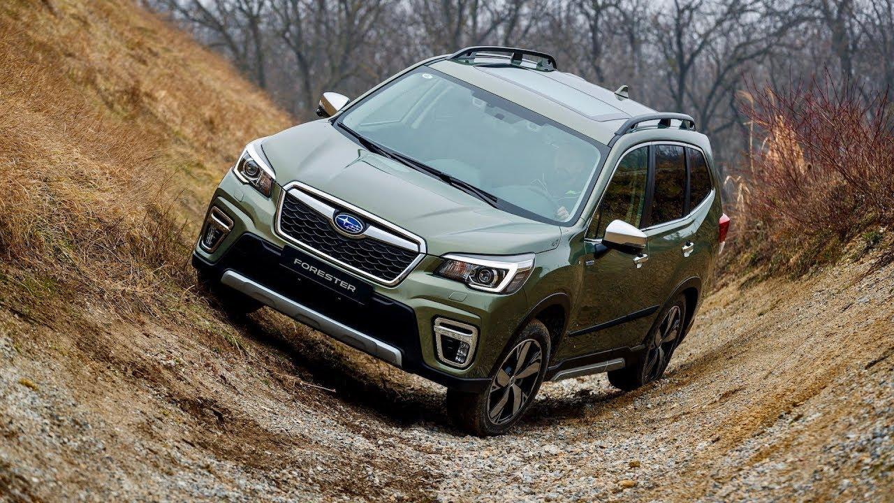 Subaru Forester 2019 pierwsze jazdy oraz system e-boxer PL Pertyn Ględzi