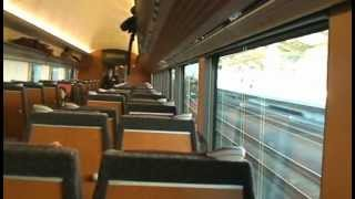 A special limited express train from Tokyo heading for Isezaki, the city near Ohyama