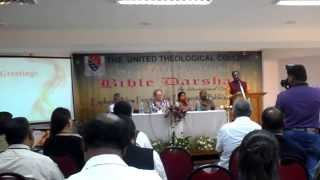 The United Theological College organized Bible Darshan International Conference 30.1-1.2.14
