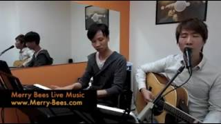 Merry Bees Live Music - Open Arms cover