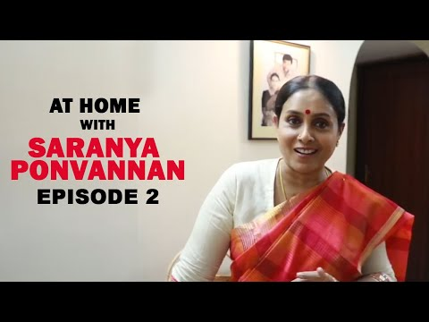 Dhanush likes my Vathakuzhambu|At Home with Saranya Ponvannan| Being on Screen Mom