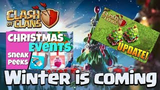 2017-18 Clash of clans winter,Christmas update th 12 leaks SUPERCELL coming soon in hindi