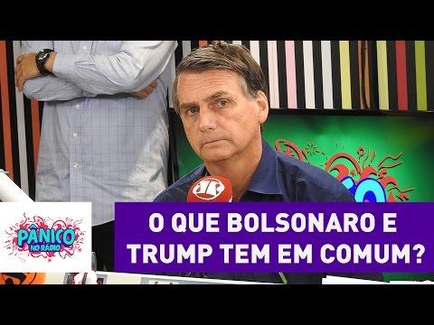O que Jair Bolsonaro e Donald Trump tem em comum?   Pânico