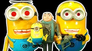 Despicable Me Dark Side Knock Off Toys Ep1 Evil Minions Superbad Gru