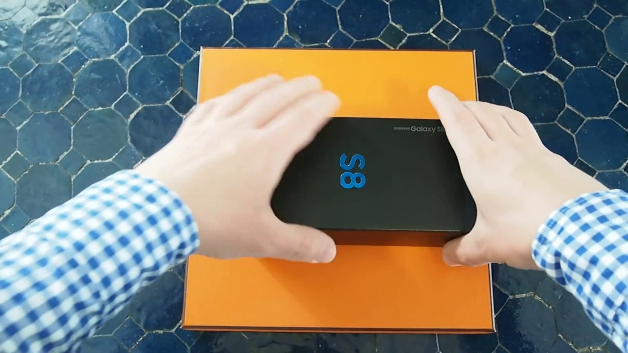 Unboxing Samsung Galaxy S8 SM-G950F